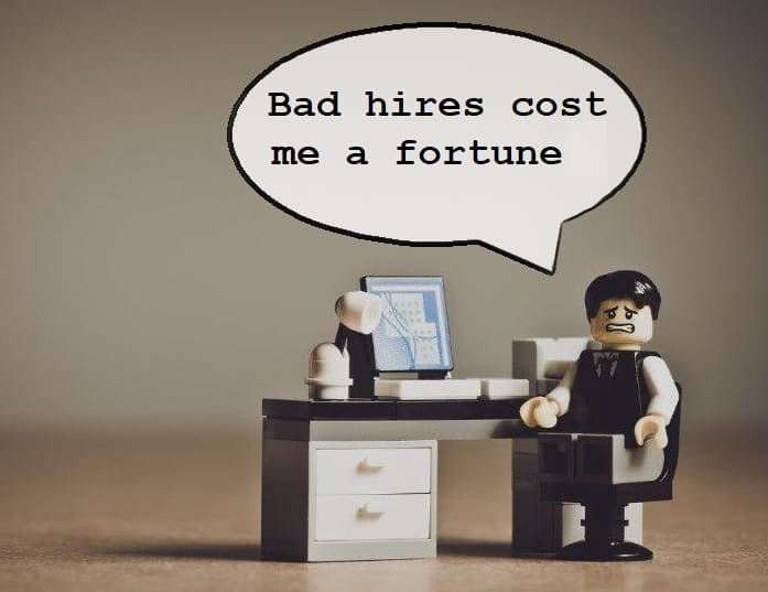 Too big cost of hire